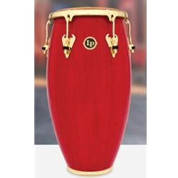 MATADOR SERIES WOOD CONGA RED w GOLD HW