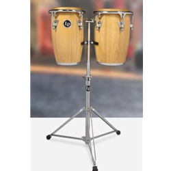 JUNIOR WOOD CONGA SET NATURAL W CHROME