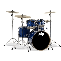 Concept Maple 5 piece kit Blue Sparkle