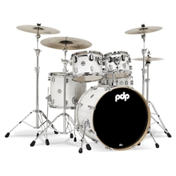 Concept Maple 5 piece kit Pearlescent White