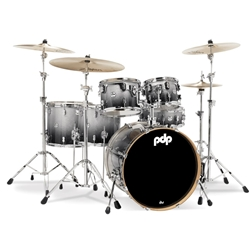Concept Maple 6 piece kit Silver to Black Fade
