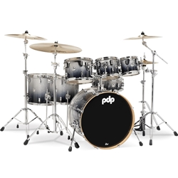 Concept Maple 7 piece kit Silver to Black Fade
