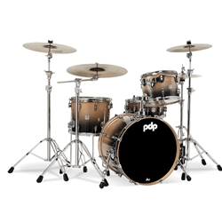 Concept Birch 4 piece kit Nat to Charcoal fade