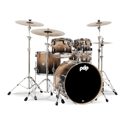 Concept Birch 5 piece kit Nat to Charcoal fade