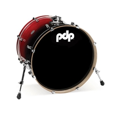 Concept Birch 18x22 Bass Drum Cherry to Black fade