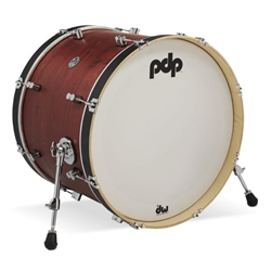 Concept Maple Classic 16x22 Bass Drum Ox blood stain
