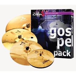 A Custom Gospel Cymbal Set