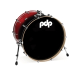 Concept Birch 18x24 Bass Drum Cherry to Black fade