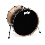 Concept Birch 18x24 Bass Drum Natural to Charcoal fade